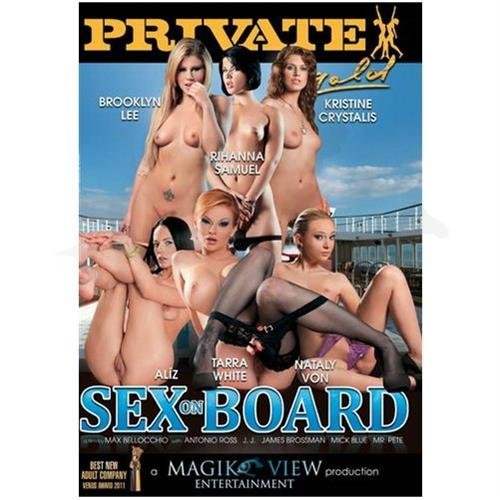 DVD XXX Sex On Board